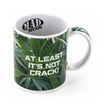 "Mug 'At Least It's Not Crack' (""Au Moins C'est Pas du Crack"")"