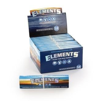 Feuilles à rouler Elements Connoisseur + Cartons