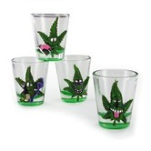 Verres à Shots Cannabuds (4 pcs)
