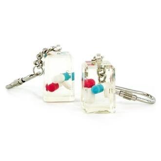 Porte-clé acrylique avec ecstasy