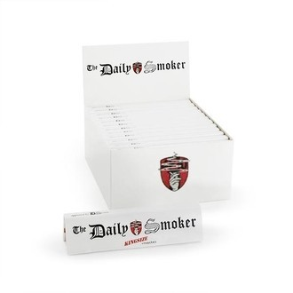 The Daily Smoker Feuilles à rouler King Size + filtres