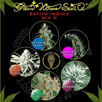 Sativa/Indica Mix D (Greenhouse Seeds) féminisée