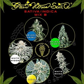 Sativa/Indica Mix B (Greenhouse Seeds) féminisée