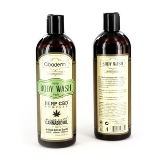 Gel douche Hemp Fresh (Cibaderm)