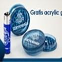 Grinder Zamnesia acrylique gratuit + 1 briquet Clipper