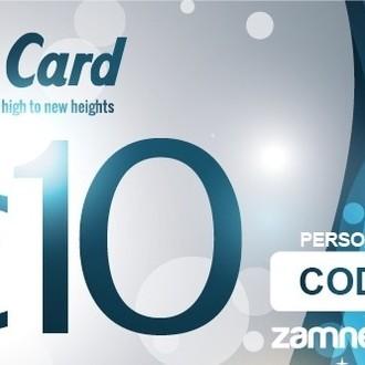 Carte cadeau Zamnesia - 10 euros
