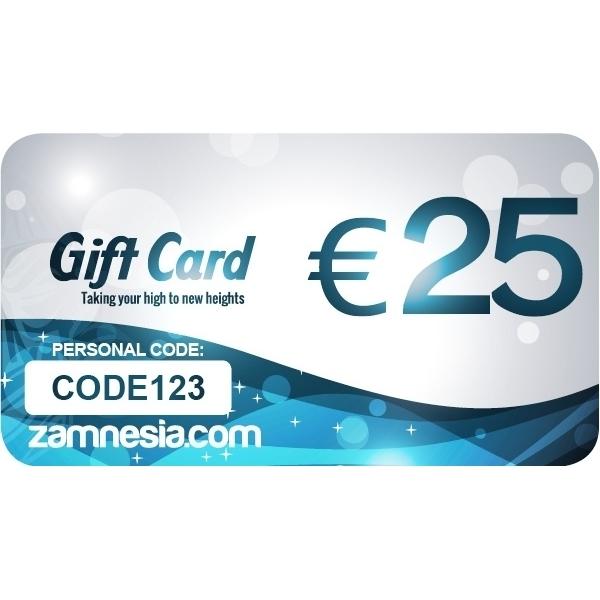 Carte Cadeau Zamnesia.Carte Cadeau Zamnesia 25 Euros
