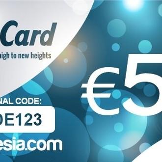 Carte cadeau Zamnesia - 50 euros