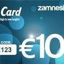 Carte cadeau Zamnesia - 100 euros