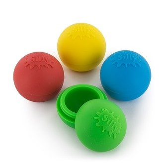 Boule en silicone 'Silly' (non-collante)