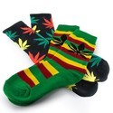 Chaussettes In Weed We Trust
