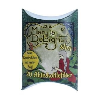Filtres À Charbon Actif Mary's Delight Slim