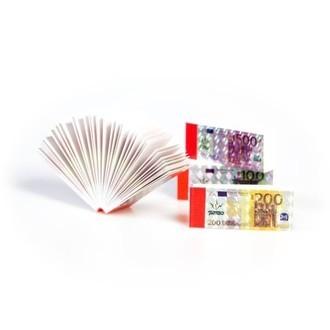 Cartons à Rouler Billet de Euro