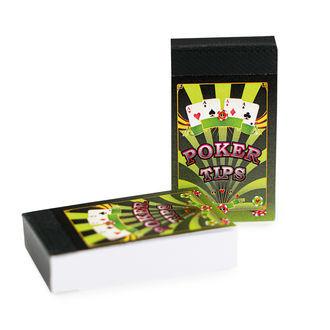 Cartons à Rouler Poker (jeu complet/52 cartes)
