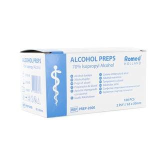 Lingettes D'Alcool (Par 100)