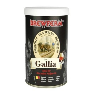 Kit À Bière Brewferm GALLIA Belgian Ale (12 L)