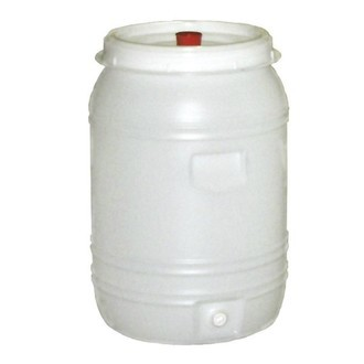 Tonneau À Fermentation Plasique 60 L (barboteur et robinet incl.)