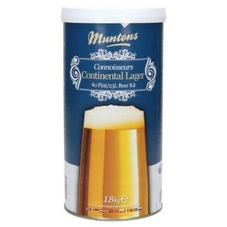 Kit À Bière Muntons Continental Lager (1,8 kg)