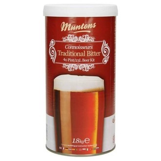 Kit À Bière Muntons Traditional Bitter (1,8 kg)