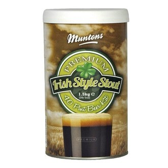 Kit À Bière Muntons Irish Stout (1,5 kg)