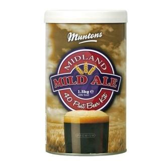 Kit À Bière Muntons Midland Mild (1,5 kg)