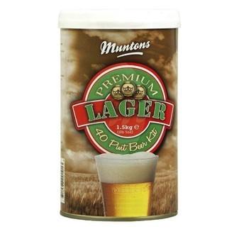Kit À Bière Muntons Premium Lager (1,5 kg)