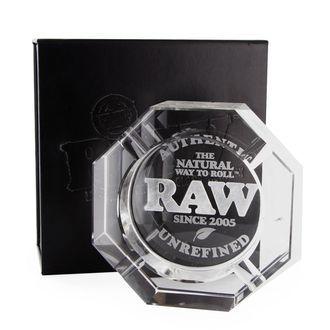 Cendrier Raw en verre de cristal