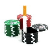 Pocket Ashtray Casino Chips