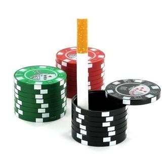 Cendrier de Poche Jetons de Casino