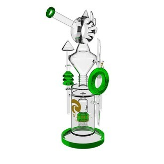 Bang en verre Tsunami Donut Recycler