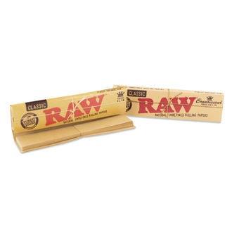 Feuilles à Rouler Chanvre Connaisseur RAW King Size +Filtres