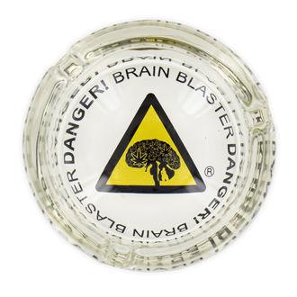 Cendrier En Verre Danger! Brain Blaster