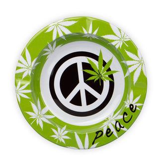 Cendrier en métal Peace