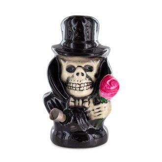 Bong En Céramique Black Hat Skull