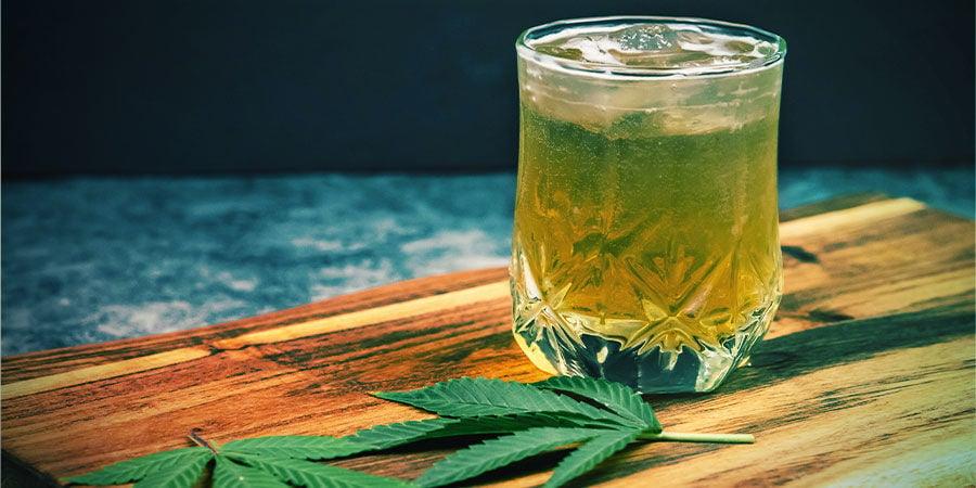 Boissons Infusées Au Cannabis