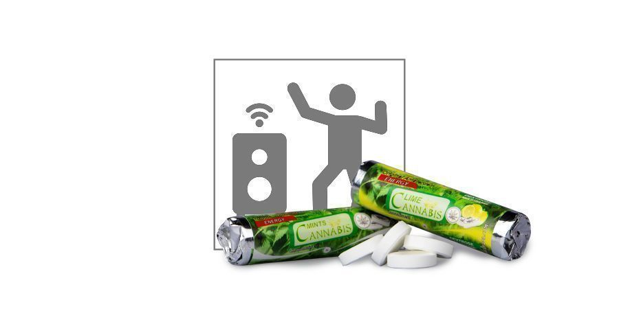 Bonbons Dextrose Cannabis