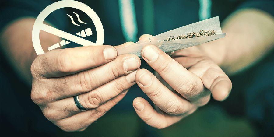 Ne Fumez Pas Les Tiges De Cannabis