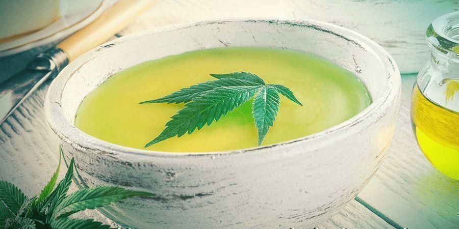 Tiges De Cannabis: Beurre Au Cannabis