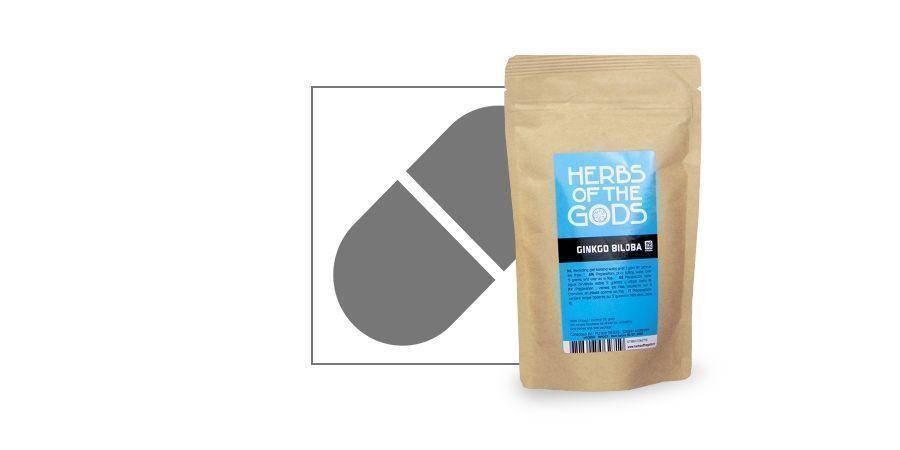 Ginkgo biloba (50 grammes)