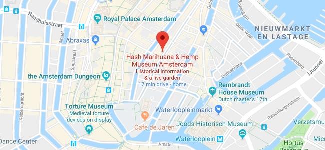 Adresse - Musée De La Marijuana À Amsterdam
