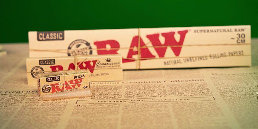 King Size Et Cartons Pré-Roulés RAW