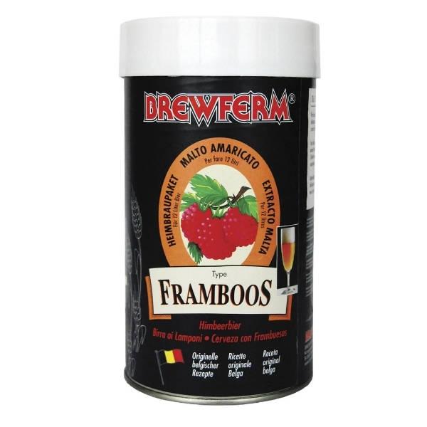 Le Kit à Bière  Brewferm Raspberry (12l)