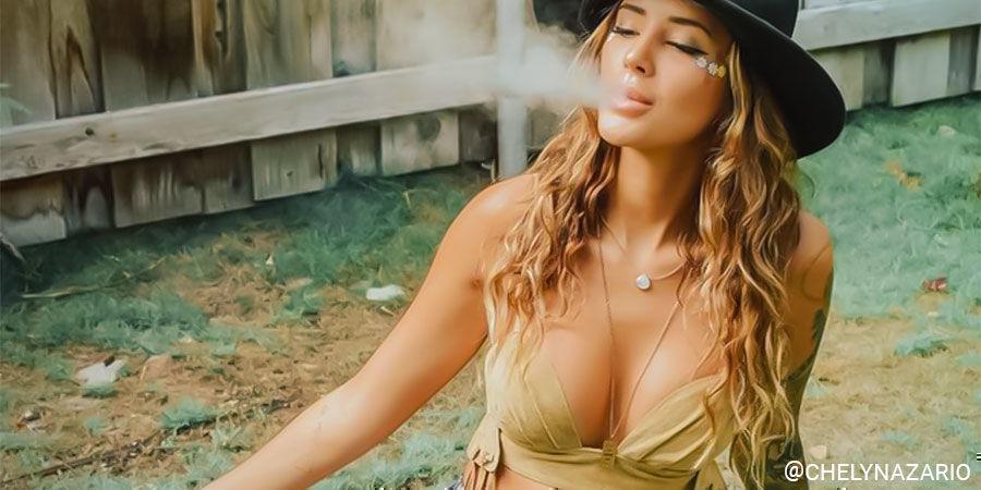 Top Influenceuses Du Cannabis Sur Instagram: @chelynazario