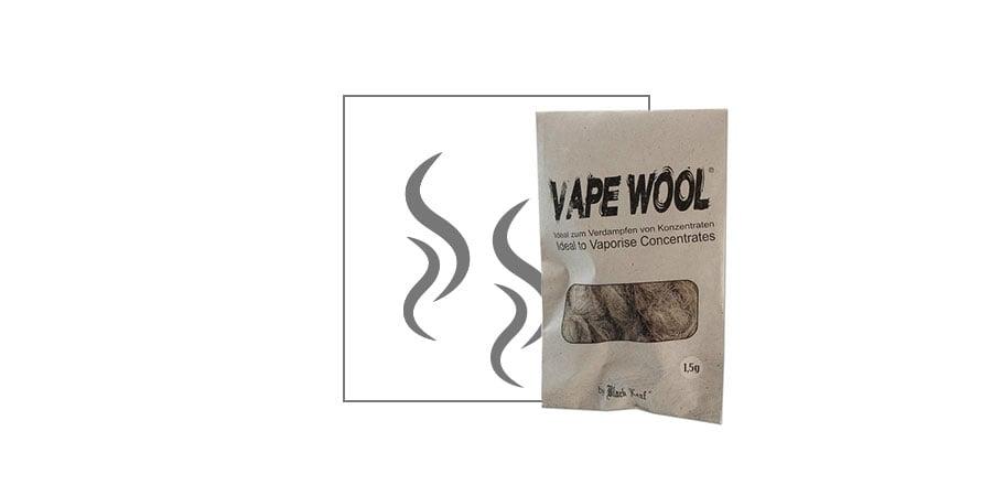 Fibres de chanvre démucilaginées Vape Wool