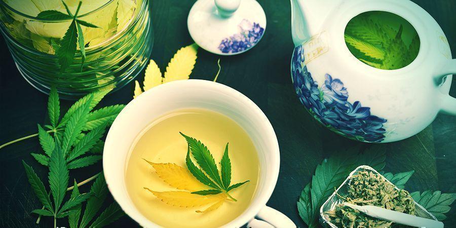 Boire Des Infusions Thérapeutiques De Cannabis