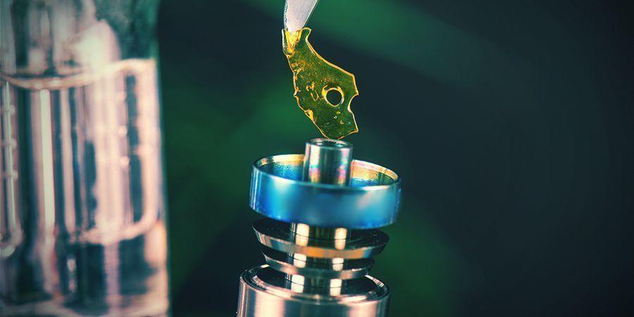 Le Dabbing De Concentrés Thérapeutiques De Cannabis