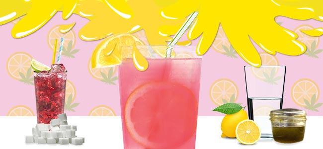La Limonade Au Cannabis - UN PEU DE ROSE
