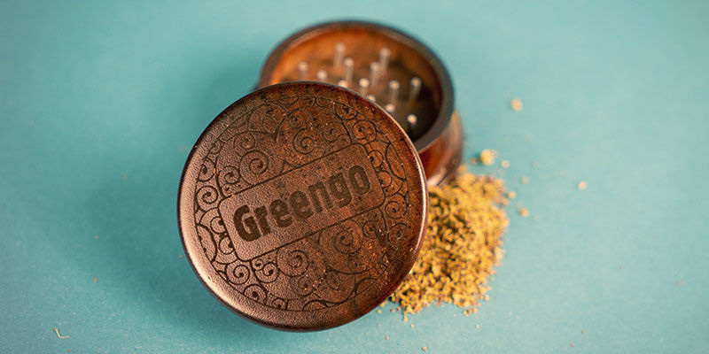 Grinder en Bois Greengo