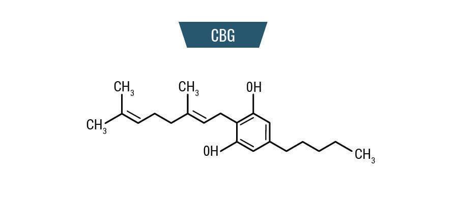 Molécule CBG