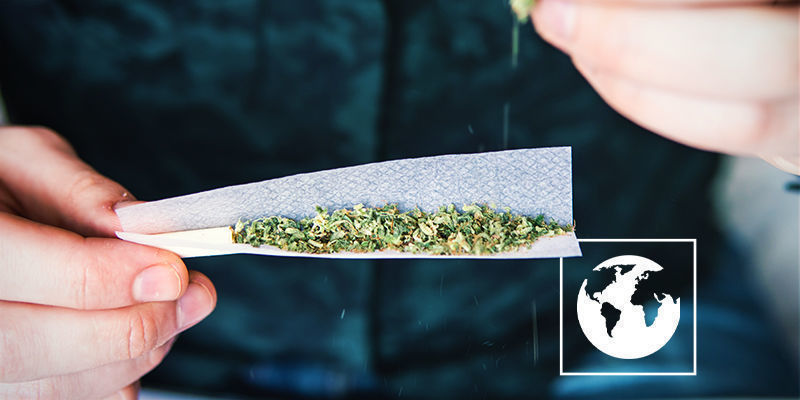 Fumer Cannabis Dans Monde Entier